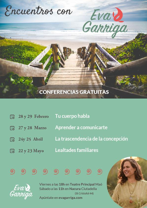 Cartel Conferencias Menorca